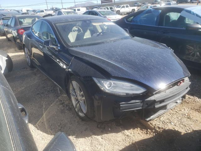 Salvage cars for sale from Copart Reno, NV: 2015 Tesla Model S 85