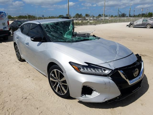 Salvage cars for sale from Copart West Palm Beach, FL: 2019 Nissan Maxima S