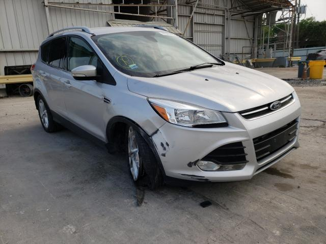 Salvage cars for sale from Copart Corpus Christi, TX: 2014 Ford Escape Titanium