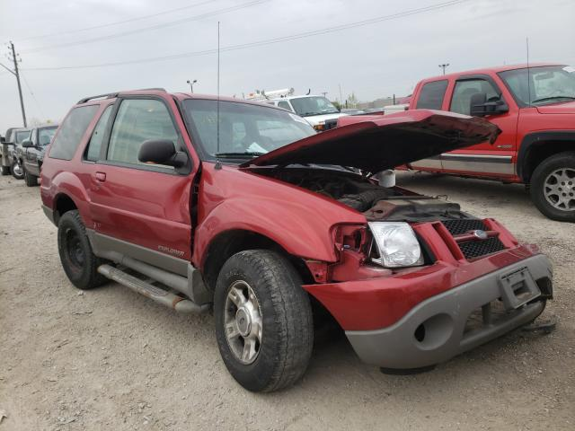Salvage cars for sale from Copart Indianapolis, IN: 2001 Ford Explorer S