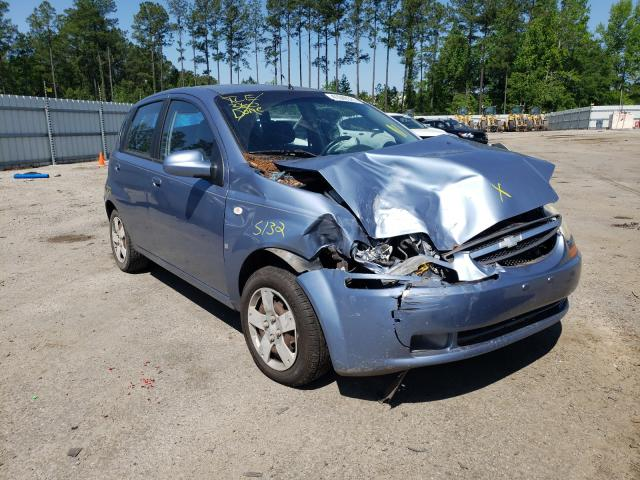 Chevrolet Aveo salvage cars for sale: 2007 Chevrolet Aveo