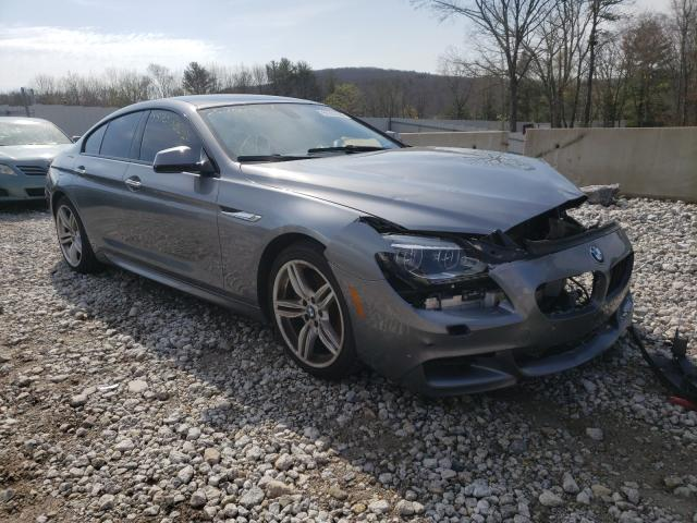 Salvage cars for sale at West Warren, MA auction: 2014 BMW 650 XI GRA
