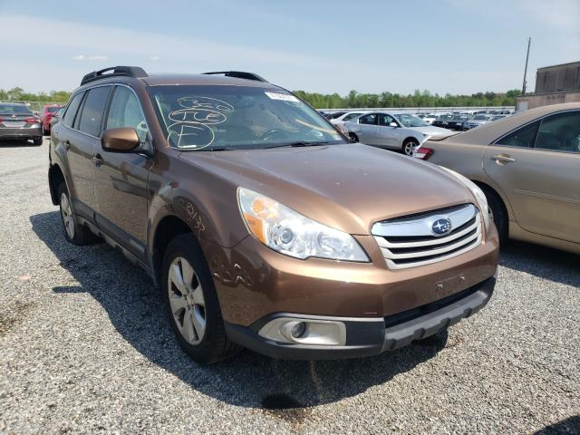 Salvage cars for sale from Copart Fredericksburg, VA: 2012 Subaru Outback 2