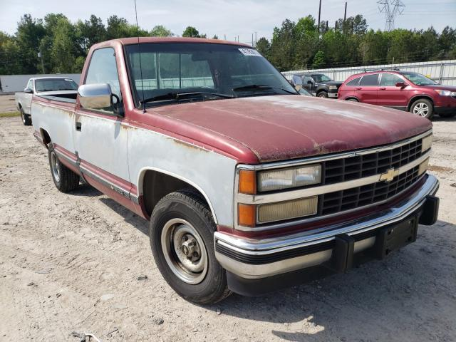 Salvage cars for sale from Copart Charles City, VA: 1990 Chevrolet GMT-400 C1