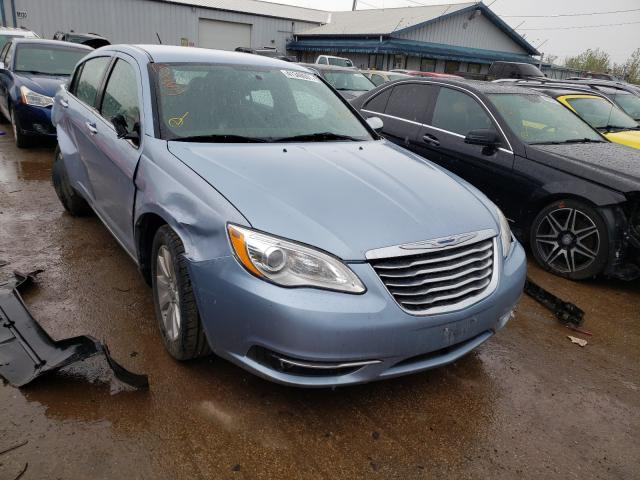 Salvage cars for sale from Copart Pekin, IL: 2013 Chrysler 200 Limited