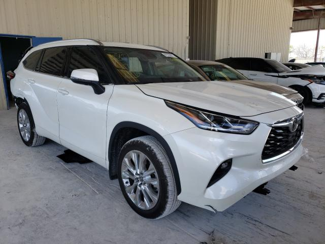 Salvage cars for sale from Copart Homestead, FL: 2021 Toyota Highlander
