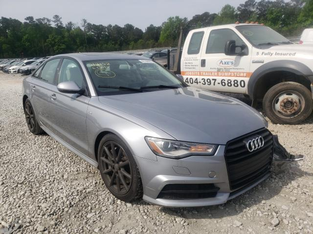 Salvage cars for sale from Copart Ellenwood, GA: 2017 Audi A6 Premium