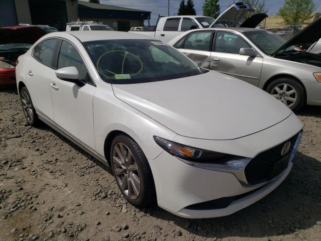 Salvage cars for sale from Copart Eugene, OR: 2020 Mazda 3 Select