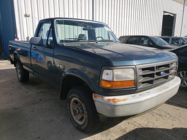 Ford F150 salvage cars for sale: 1995 Ford F150