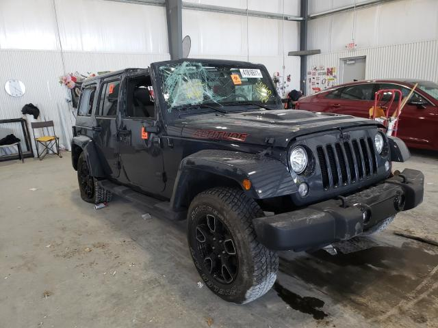 Salvage cars for sale from Copart Greenwood, NE: 2018 Jeep Wrangler U