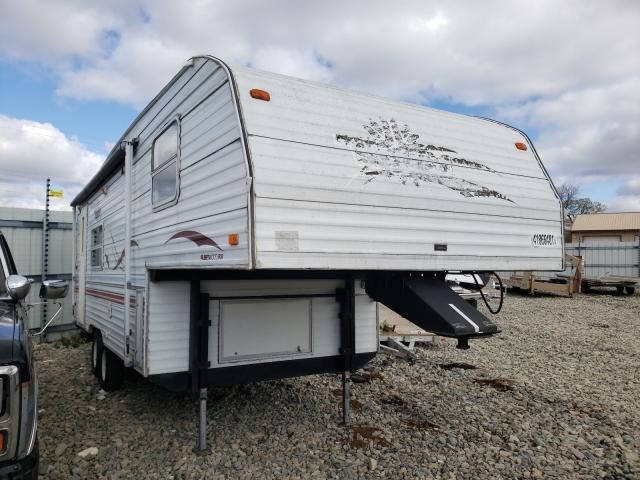 Salvage cars for sale from Copart Appleton, WI: 2001 West Trailer