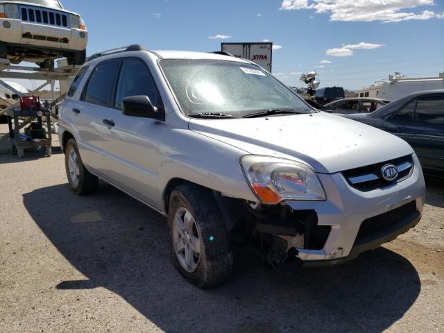 Salvage cars for sale from Copart Tucson, AZ: 2009 KIA Sportage L