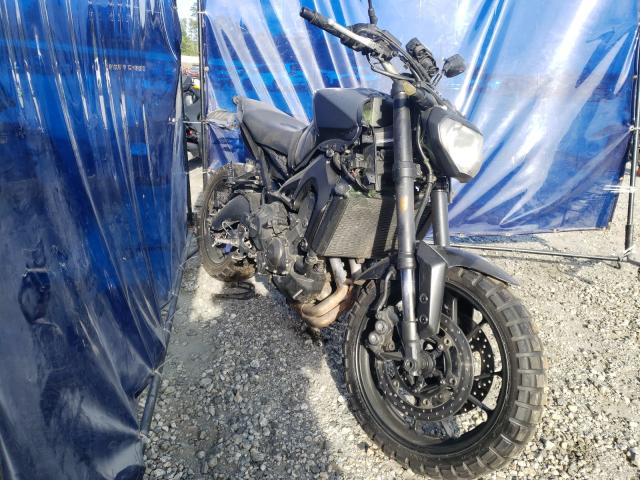 Salvage cars for sale from Copart Spartanburg, SC: 2015 Yamaha FZ09