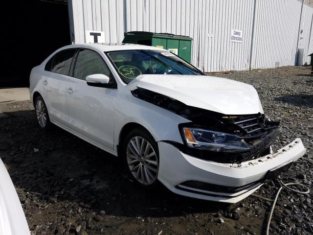 Salvage cars for sale from Copart Windsor, NJ: 2015 Volkswagen Jetta SE
