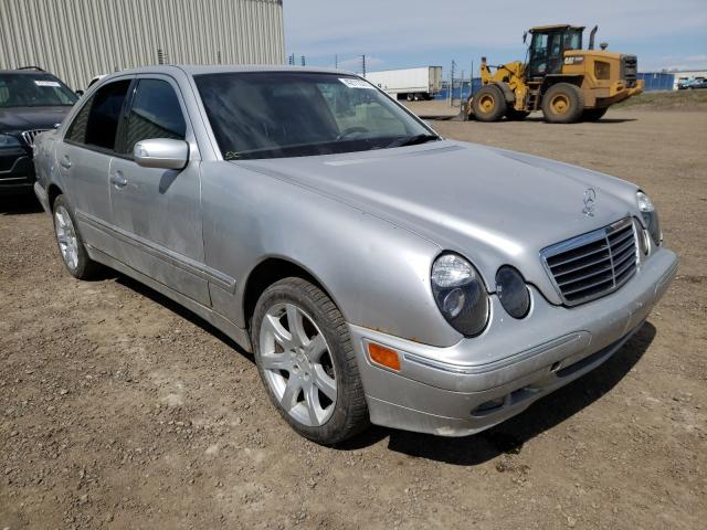 Salvage cars for sale from Copart Rocky View County, AB: 2001 Mercedes-Benz E 430