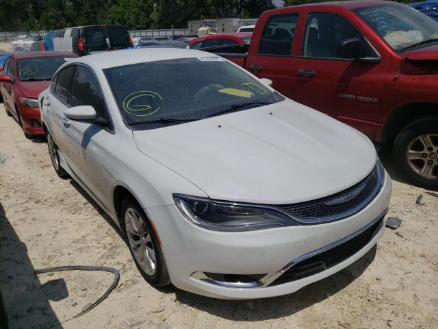 Salvage cars for sale from Copart Ocala, FL: 2015 Chrysler 200 C