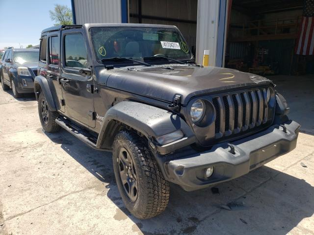 Salvage cars for sale from Copart Sikeston, MO: 2018 Jeep Wrangler U