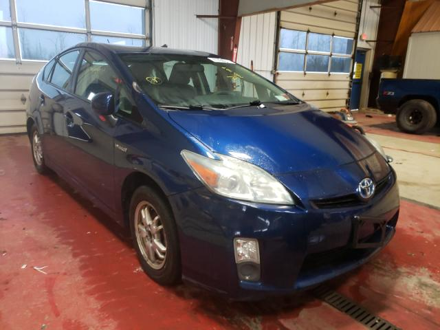 Salvage cars for sale from Copart Angola, NY: 2010 Toyota Prius