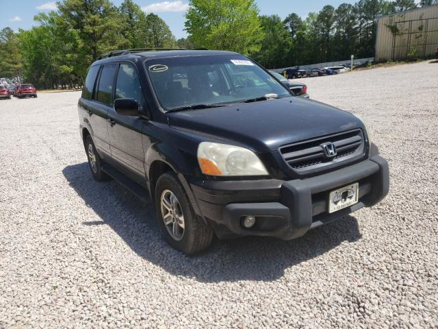 Salvage cars for sale from Copart Knightdale, NC: 2004 Honda Pilot EXL