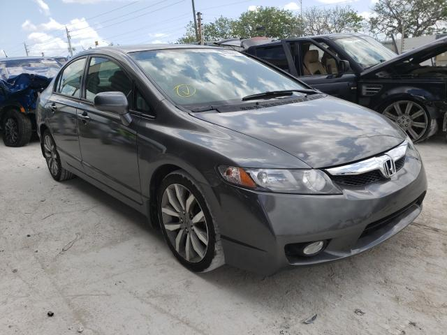 Salvage cars for sale from Copart Homestead, FL: 2010 Honda Civic LX
