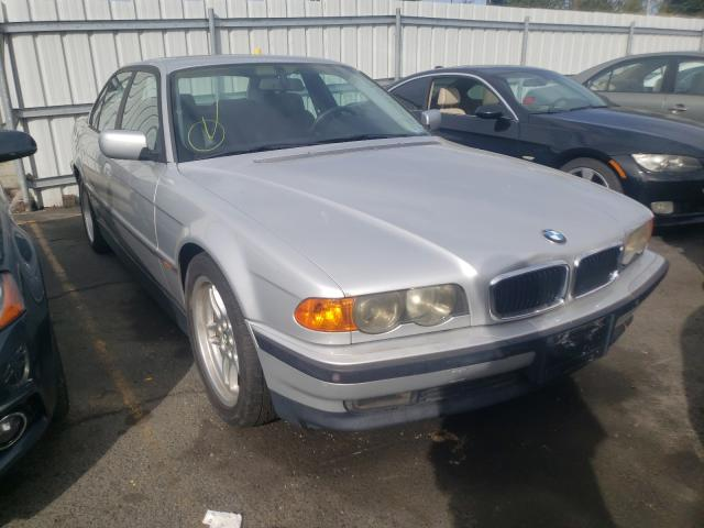 Salvage cars for sale from Copart Vallejo, CA: 1999 BMW 740 I Automatic