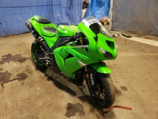 Salvage cars for sale from Copart Columbia Station, OH: 2006 Kawasaki ZX1000 D6F