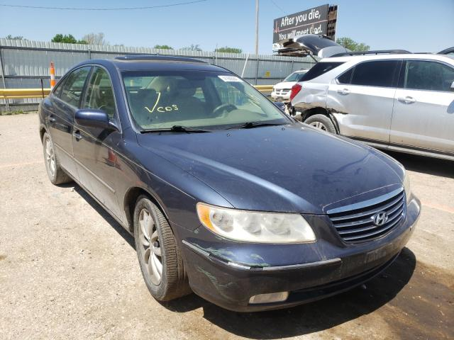 Salvage cars for sale from Copart Wichita, KS: 2006 Hyundai Azera SE