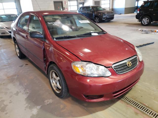 Salvage cars for sale from Copart Sandston, VA: 2003 Toyota Corolla CE