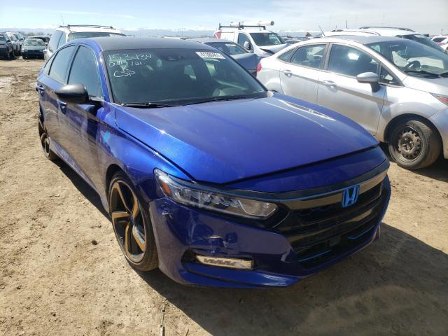 Vehiculos salvage en venta de Copart Brighton, CO: 2020 Honda Accord Sport