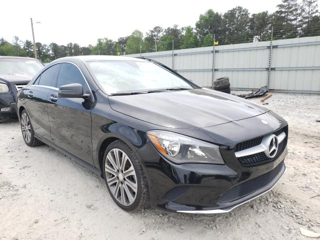 Salvage cars for sale from Copart Ellenwood, GA: 2017 Mercedes-Benz CLA 250