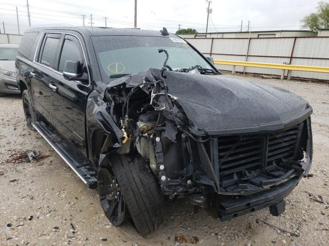 Salvage cars for sale from Copart Haslet, TX: 2016 Cadillac Escalade E