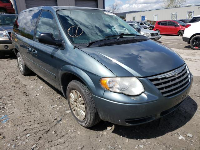 Salvage cars for sale from Copart Duryea, PA: 2007 Chrysler Town & Country