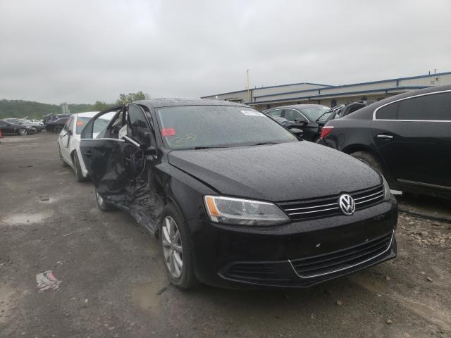 Salvage cars for sale from Copart Alorton, IL: 2014 Volkswagen Jetta SE