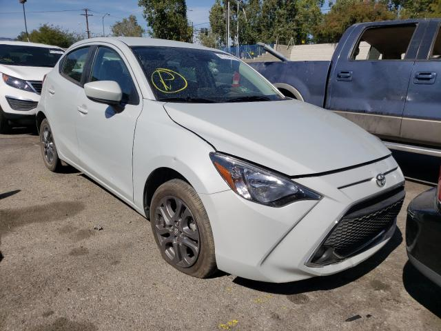 Salvage cars for sale from Copart Colton, CA: 2020 Toyota Yaris LE