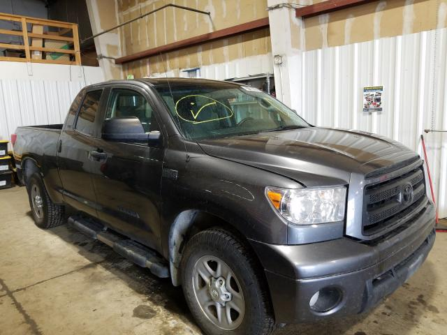 Salvage cars for sale from Copart Anchorage, AK: 2013 Toyota Tundra DOU