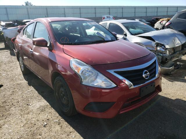 Salvage cars for sale from Copart Albuquerque, NM: 2019 Nissan Versa S
