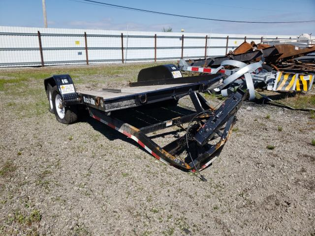 Salvage cars for sale from Copart Dyer, IN: 2020 Cron Flatbed