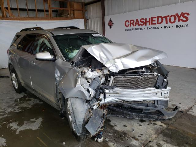 Salvage cars for sale from Copart Sikeston, MO: 2017 Chevrolet Equinox LT