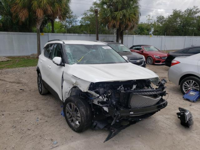 Salvage cars for sale from Copart West Palm Beach, FL: 2021 KIA Seltos S