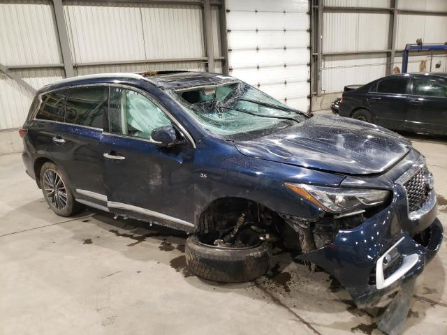 Salvage cars for sale from Copart Montreal Est, QC: 2016 Infiniti QX60