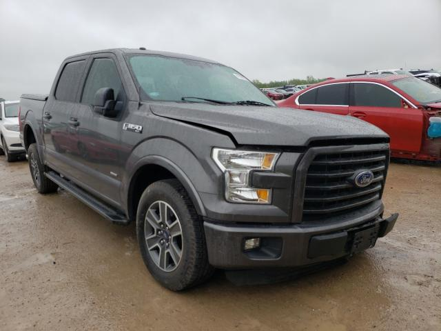 Salvage cars for sale from Copart Temple, TX: 2016 Ford F150 Super