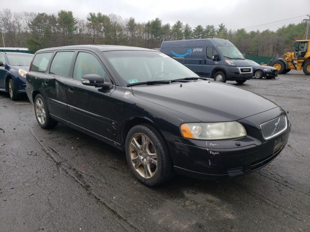 Salvage cars for sale from Copart Exeter, RI: 2007 Volvo V70