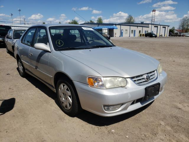 Salvage cars for sale from Copart Finksburg, MD: 2002 Toyota Corolla CE