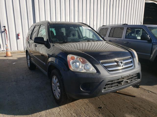 Salvage cars for sale from Copart Windsor, NJ: 2005 Honda CR-V