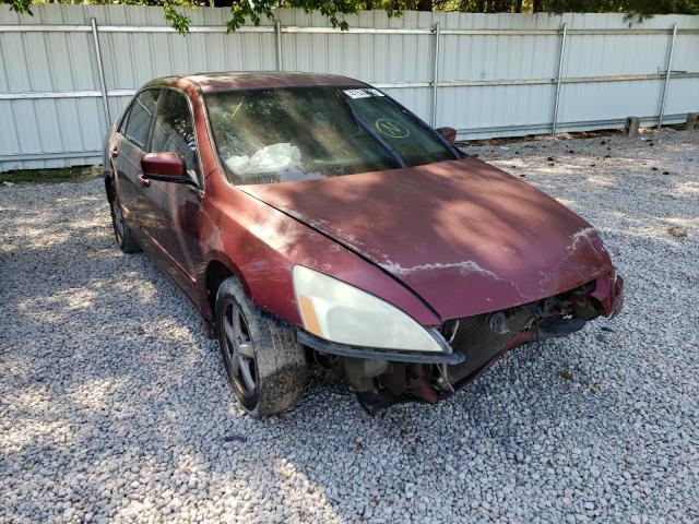 Salvage cars for sale from Copart Knightdale, NC: 2005 Honda Accord EX