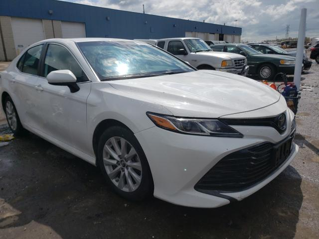 Salvage cars for sale from Copart Woodhaven, MI: 2019 Toyota Camry