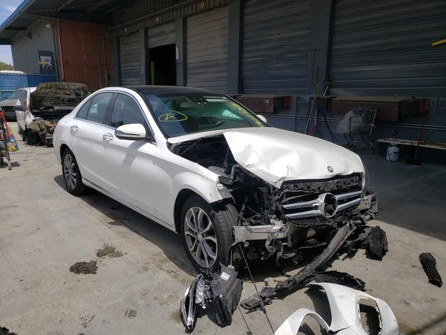 Mercedes-Benz salvage cars for sale: 2016 Mercedes-Benz C 300 4matic