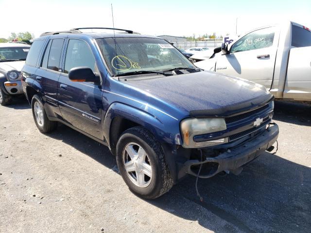 Vehiculos salvage en venta de Copart Alorton, IL: 2002 Chevrolet Trailblazer