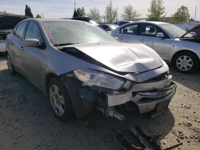 Salvage cars for sale from Copart Eugene, OR: 2015 Dodge Dart SE
