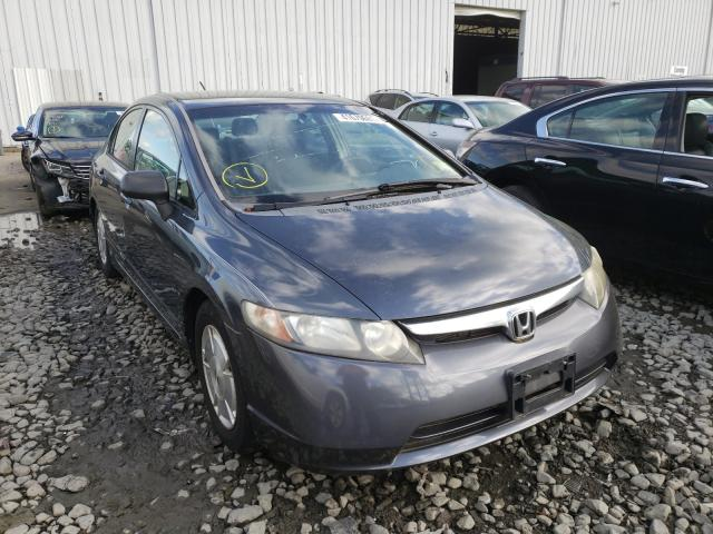 Salvage cars for sale from Copart Windsor, NJ: 2006 Honda Civic Hybrid